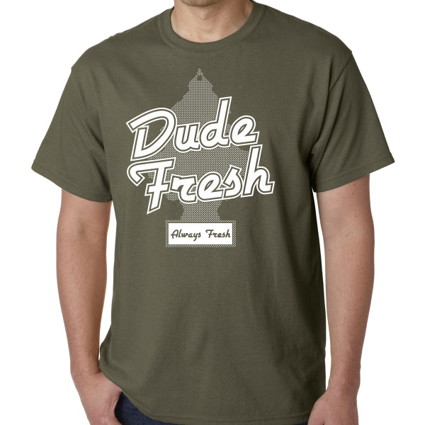 Fresh Military Green Shirt