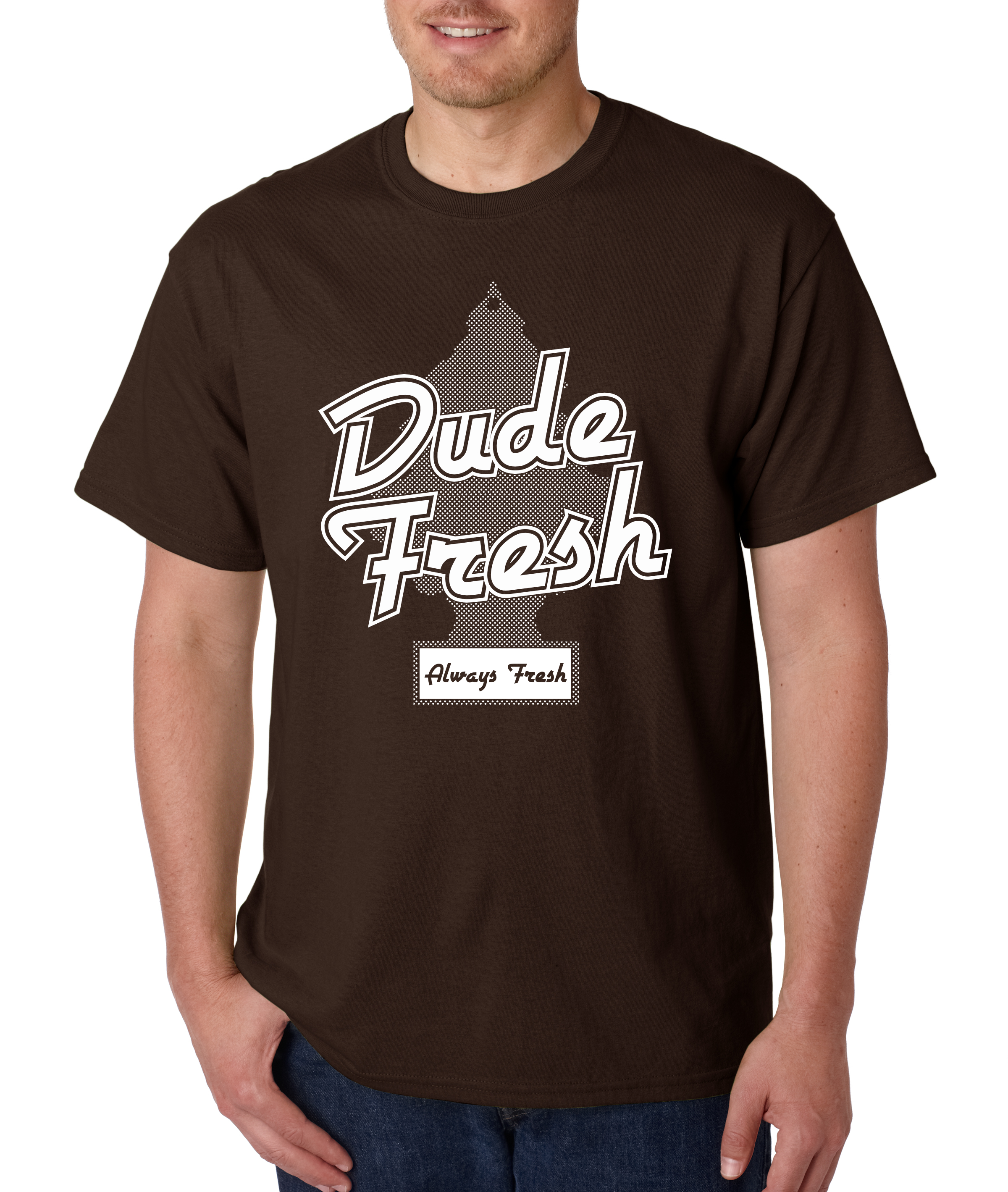 Fresh Brown T shirt